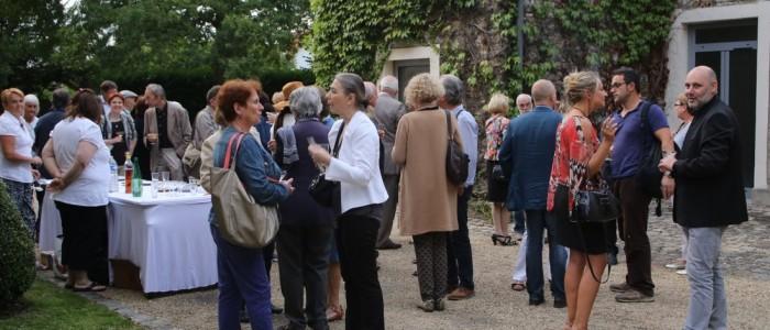 vernissage  au Chateau des Tourelles